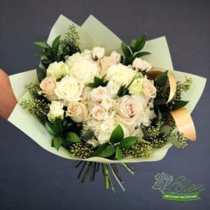 Букет роз Белоснежный