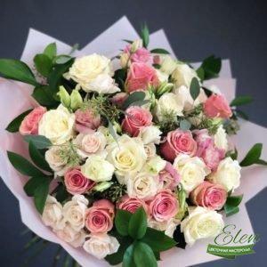 Букет роз Нежность
