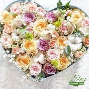 Композиция из цветов Прованс