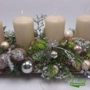 Новогодний декор - доставка цветов Киев