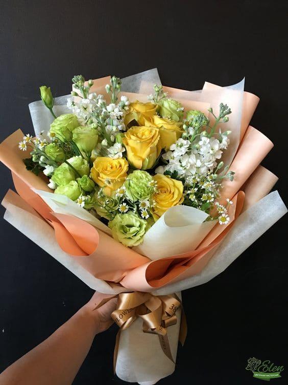 Букет цветов Солнышко