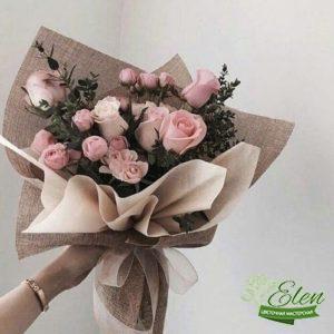 Букет цветов Воздушный поцелуй