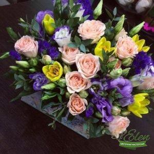 Коробочка цветов Весенняя