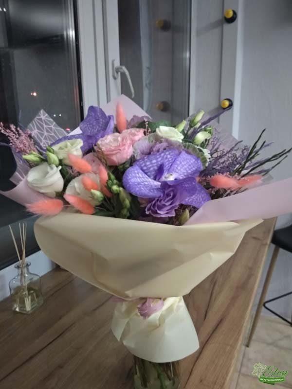 Букет цветов Елизавета летний