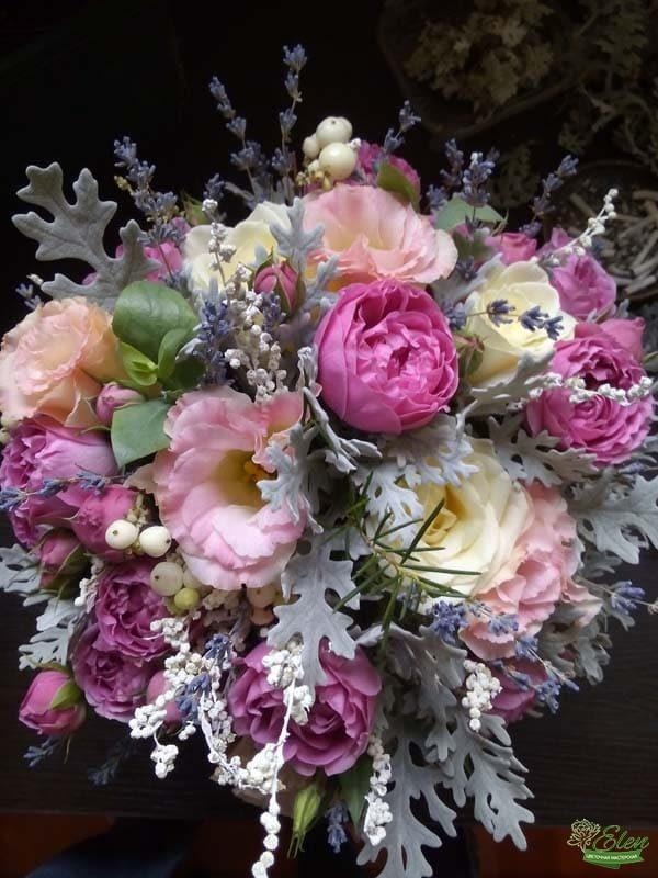 Букет цветов Вивальди микс