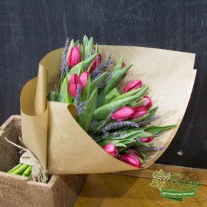 Букет тюльпанов Нежность