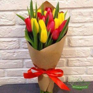 Букет тюльпанов Счастье