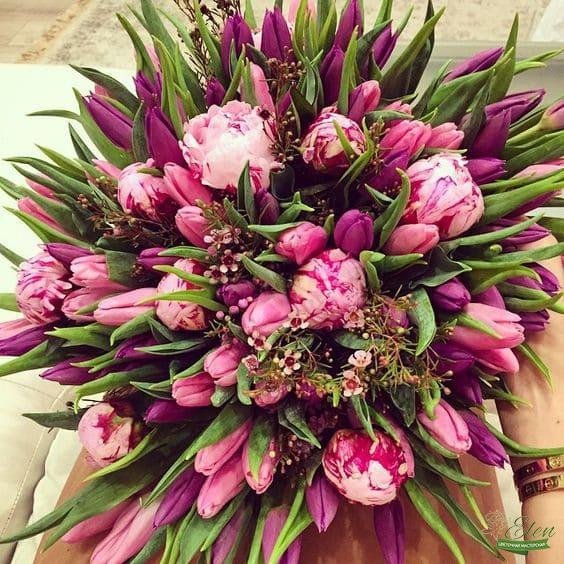 Букет тюльпанов Совершенство