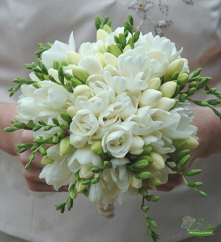 Букет невесты из фрезии