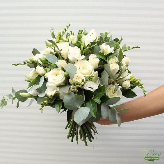 Букет невесты Светлый день